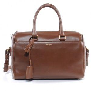 Saint Laurent Classic Leather Duffle